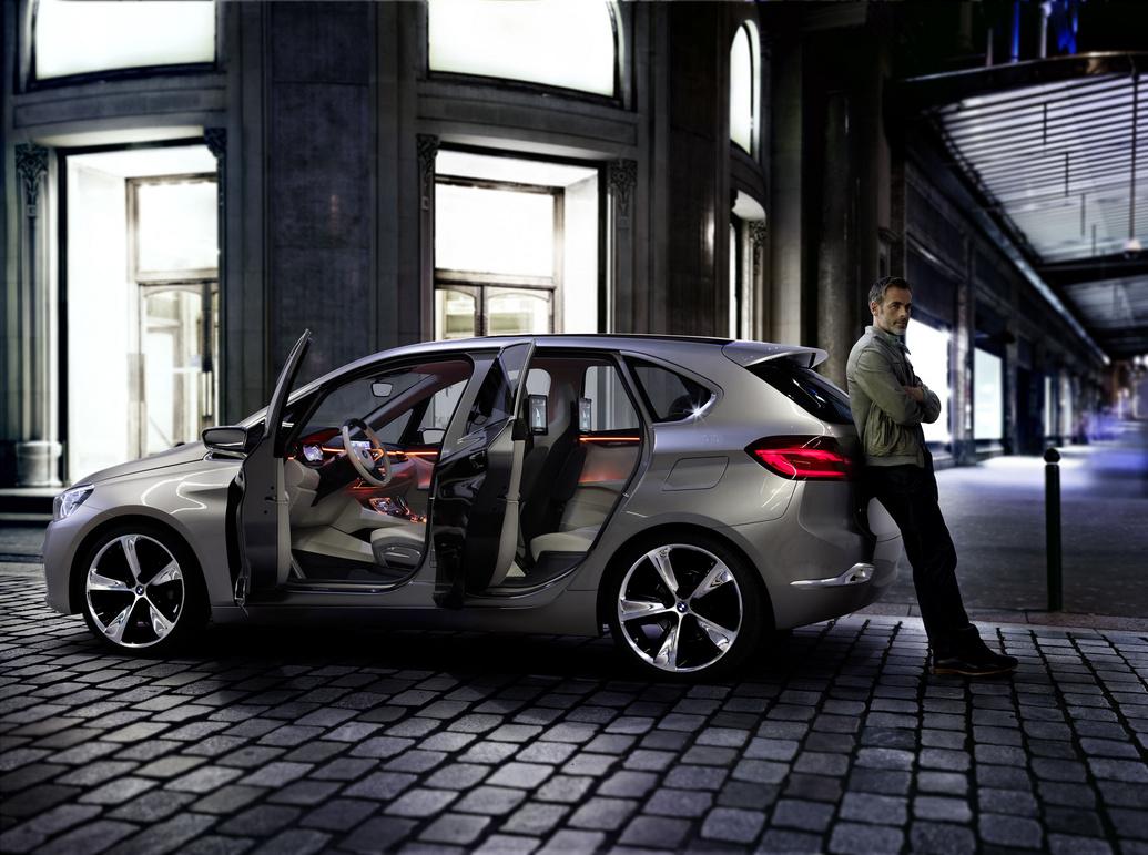Для создания BMW 2-Series будет использована платформа от Active Tourer