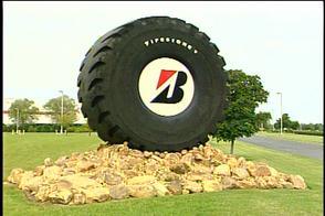 Bridgestone развивает производство промышленных шин