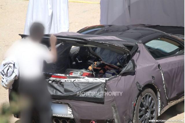 По следующему поколению Chevrolet Corvette появился новый тизер