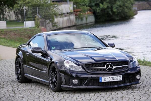 TC Concept показал свое видение Mercedes-Benz SL65 AMG Titan Solution
