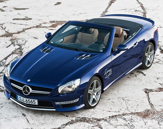 Новый Mercedes-Benz SL65 AMG выходит на европейский рынок
