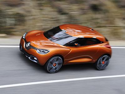 Renault в 2013 году намерен представить кроссовер на базе Clio