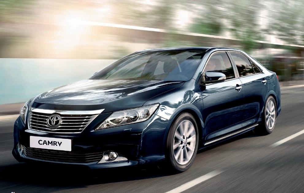 Объявлены цены на самую мощную модификацию Toyota Camry
