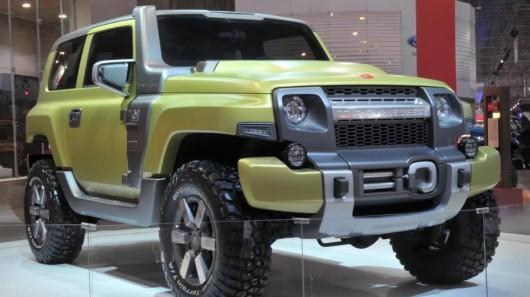 В Бразилии Ford представил новый концепт для бездорожья