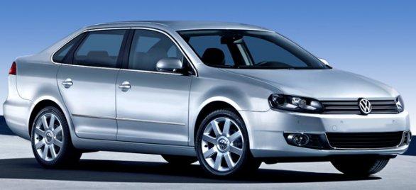 Немецкий концерн представил второе поколение модели VW Santana
