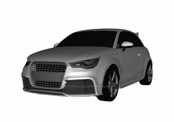 В интернете опубликовали изображения горячего Audi A1