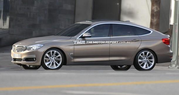 Фотографам удалось устроить неофициальную сессию BMW 3-series GT