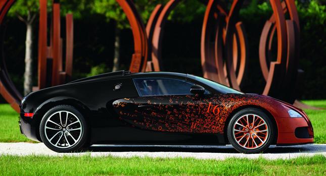 Bugatti Veyron Grand Sport стал настоящим художественным произведением