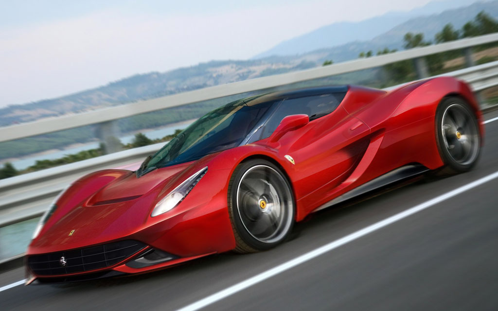 В сети появился тизер новой модели Ferrari