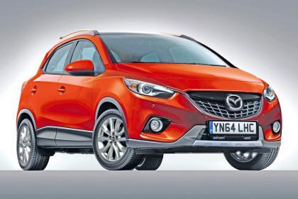 Ждем компактного кроссовера Mazda CX-3