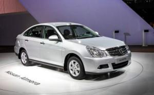 Тысяча Nissan Almera сойдут с конвейера уже в январе