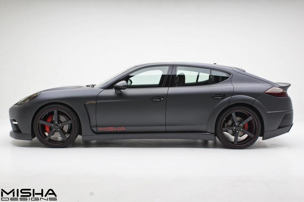 Misha Design представило пакет GTM для Porsche Panamera