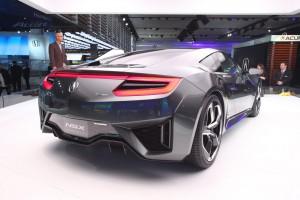 Концепт и новое поколение Acura NSX были представлены в Детройте