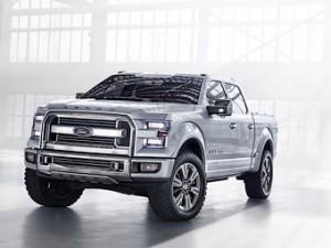 Концептуальный пикап Ford Atlas демонстрирует будущее пикапов бренда
