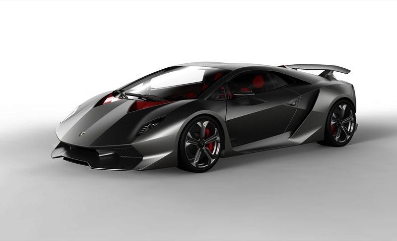 Новый суперкар Lamborghini получит полностью карбоновый кузов