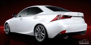 Первые официальные фото нового Lexus IS F Sport