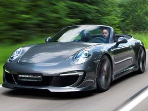 Тюнинг Porsche 911 Cabrio от Gemballa