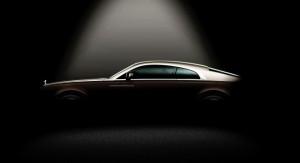 Британский производитель опубликовал первый тизер Rolls-Royce Wraith