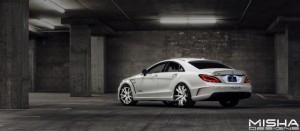Тюнинг Mercedes-Benz CLS63 AMG от Misha Design и Couture Customs