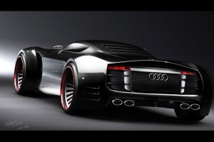 Гибридный суперкар Audi R10 получит 600 лошадиных сил