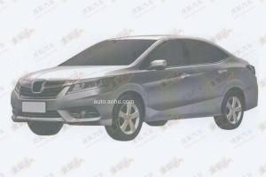 Первые изображения нового седана Honda опубликованы в интернете