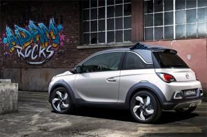 Opel представил компактный кроссовер Opel Adam Rocks