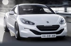 Прошло обновление французского спорткара Peugeot RCZ