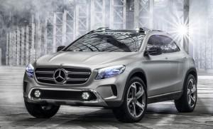 Официальные изображения компактного кроссовера Mercedes-Benz GLA появились в интернете