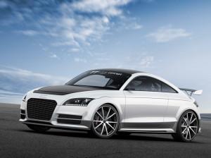 Немцы представили ультралегкую модификацию Audi TT ultra quattro (+ фото)