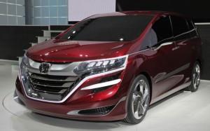 Японцы представили концепт нового минвэна – Honda M (+фото)