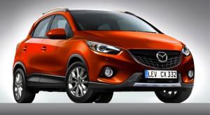 Компактный кроссовер Mazda CX-3 не получит полный привод