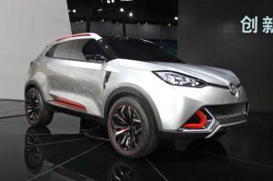 В Шанхае представлен концепт кроссовера MG CS