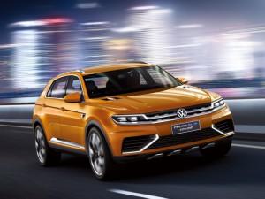 В интернете появились снимки концепта Volkswagen CrossBlue Coupe