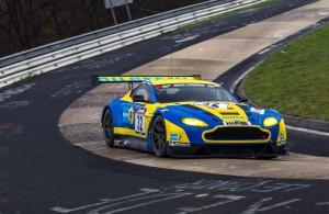 Подготовлен Aston Martin V12 Vantage GT3 специально для 24-часовых гонок на Нюрбургринге