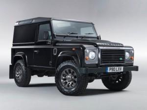 В честь юбилея Land Rover будет выпущена специальная версия LXV