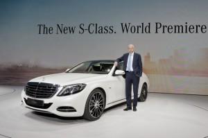 Новый Mercedes-Benz S-Class представлен официально (+фото)