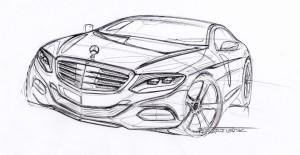 В интернете появился тизер купе Mercedes-Benz S-Class