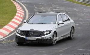 Началось тестирование «горячего» Mercedes-Benz S-Class
