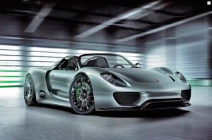 Гибридная установка Porsche 918 Spyder будет работать в пяти режимах (+фото)