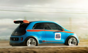 Дебютировал концептуальный гоночный Renault Twin'Run (+фото)