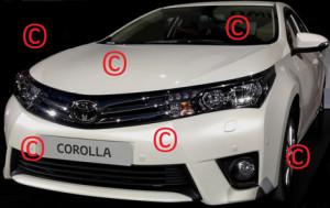 В интернете появились фото следующего поколения Toyota Corolla