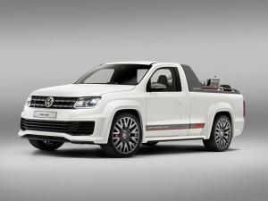 Volkswagen представил две новые модификации пикапа Amarok  - R-Style и XXL (+фото)