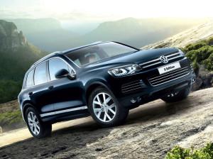 Ограниченная серия Volkswagen Touareg Edition X появилась в России (+фото)