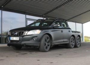 Volvo подготовил трехосный XC60 для собственных нужд