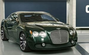 Редчайший Bentley Continental GTZ выставлен на аукцион (+фото)
