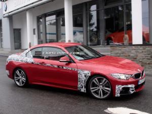Фотошпионы «словили» кабриолет BMW 4-Series Convertible