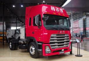 JAC представил модификацию тягача на газе