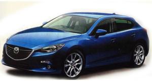 Облик новой Mazda3 опубликовали в японском издании