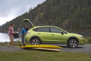 Subaru выпускает на рынок первый гибрид