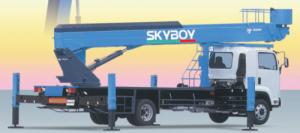 Новые автовышки в линейке Tadano Skyboy